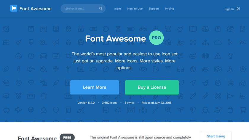 Axure RP中添加Web字体  使用FontAwesome 图标库完成设计